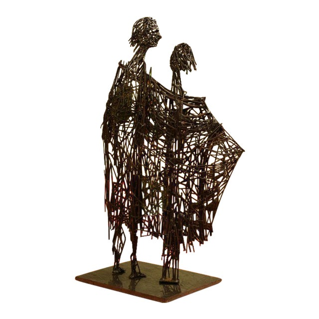 Heart of Glass Figurative Nail Sculpture - Image 1 of 9