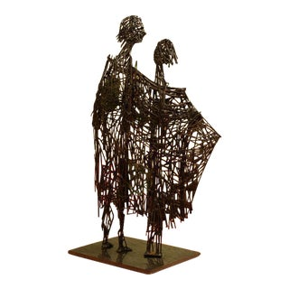 Heart of Glass Figurative Nail Sculpture