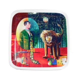 "Luigi Rincicotti Zodiac Plate ""Leo"""