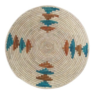 Native American Style Alternating Arrow Basket