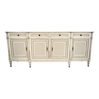French Painted Louis XVI-Style Buffet