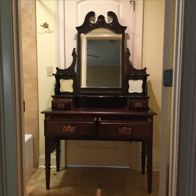 English Traditional Vanity Table - Image 2 of 10