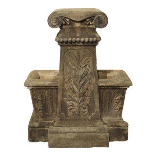 Unusual Reconstituted Stone Jardiniere from France, Circa 1880