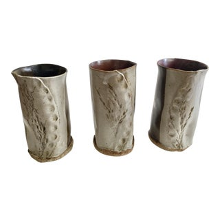Vintage Ceramic Vases- Set of 3