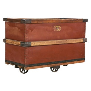 Antique Luggage Cart
