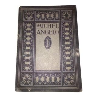 Antique 1925 Michelangelo Catalogue