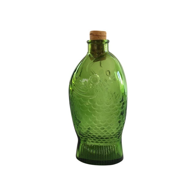 Green Dr. Fisch's Bitters Bottle, Reproduction - Image 1 of 6