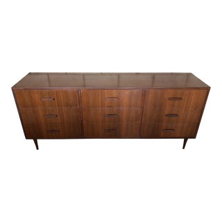 MCM Danish Walnut Credenza Dresser