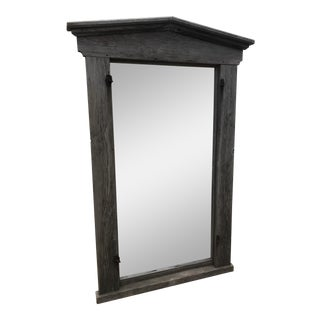 Federal Window Frame With Mirror