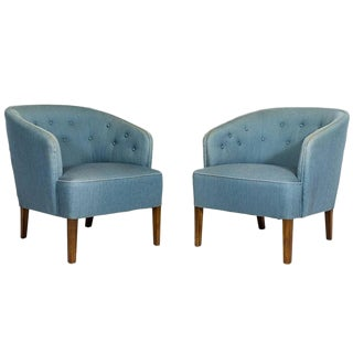 Pair of Ludvig Pontoppidan Lounge Chairs