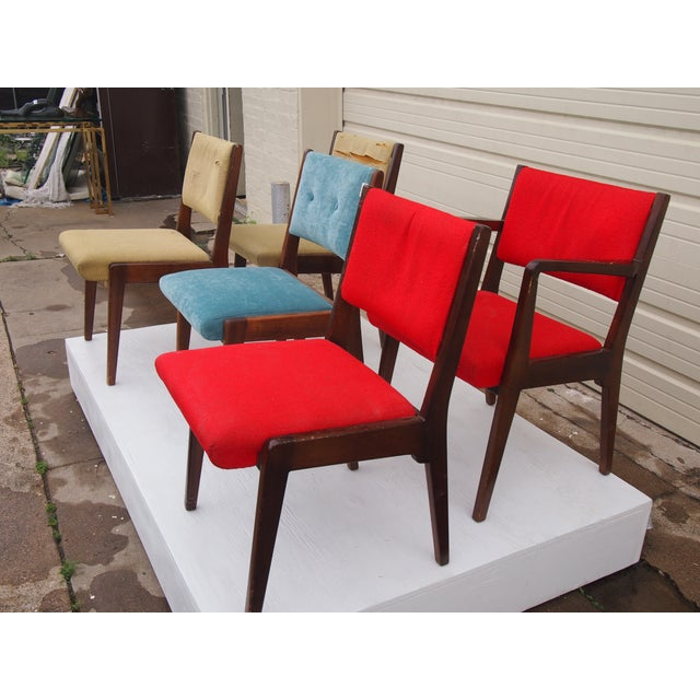 Risom American Modern Dining Chairs - Set of 8 - Image 4 of 4