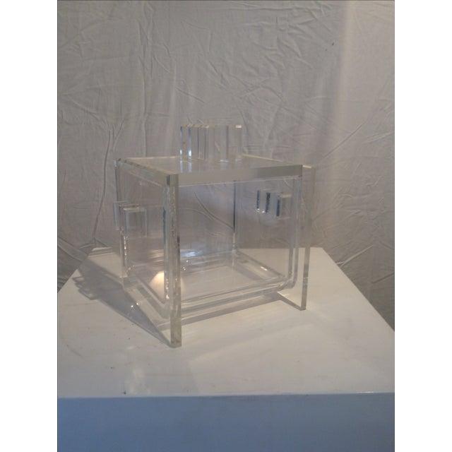 Mid-Century Modern Hollis Jones Style Ice Bucket - Image 2 of 7
