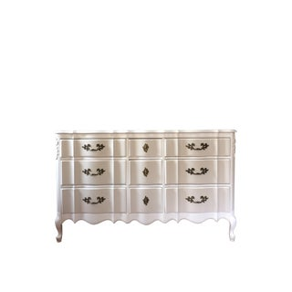 Solid Wood Two-Tone French Provincial Dresser