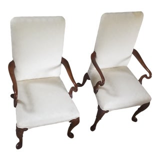English Baker Dining Chairs - A Pair