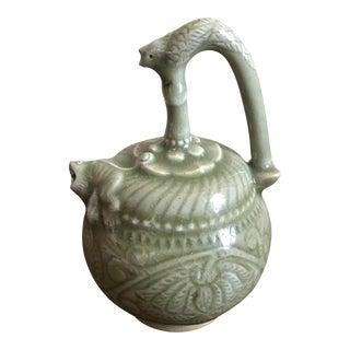 Vintage Celadon Water Dropper