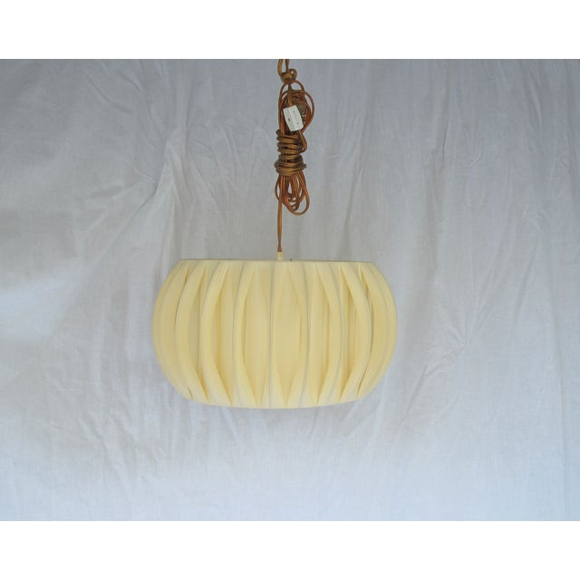 Image of Vintage 1970s Rubberized Fabric Pendant