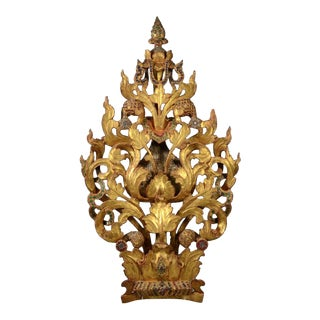 Thai Carved Architectural Element