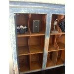 Image of Antique Handmade Pine Hanging Cabinet