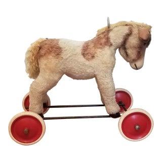 Steiff Riding Horse on Wheels
