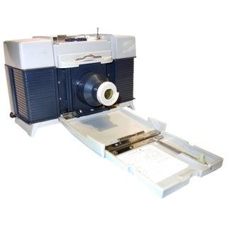 Polaroid Camera Copier As A Table Accent Lamp Circa 1950. Display As Sculpture.