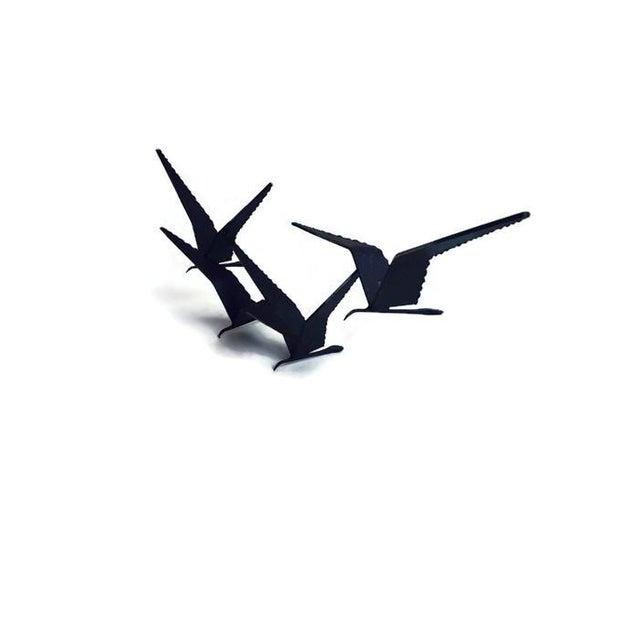 Image of Mid-Century Birds in Flight Sculpture