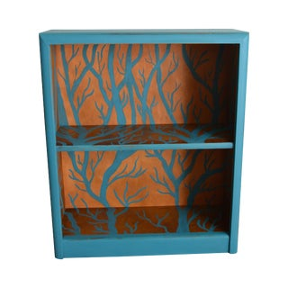 Small Blue Shelf with Branch Details