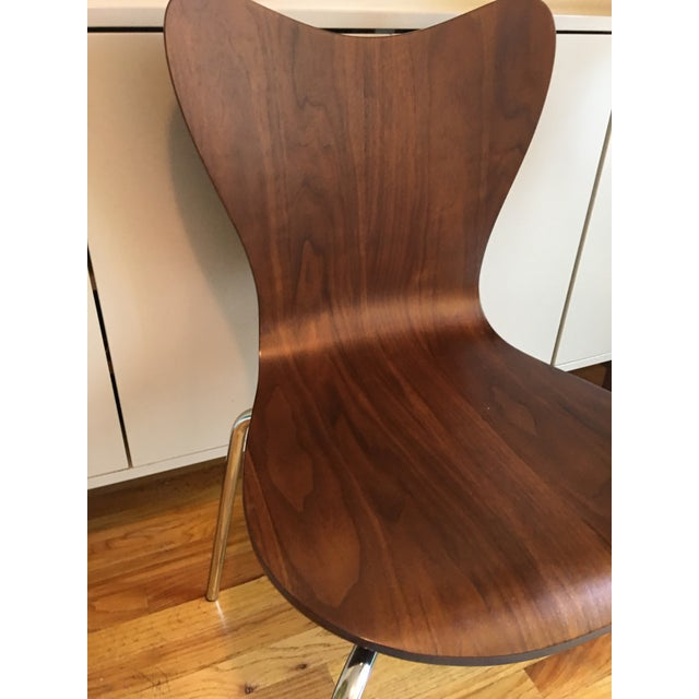 West Elm Scoop Back Chairs - A Pair - Image 5 of 6