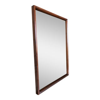 MCM Danish Walnut Dresser Mirror