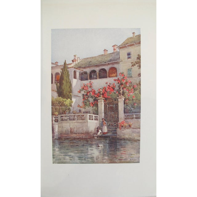 1905 Ella du Cane Print, Villa Garden, Lago D'Orta - Image 2 of 5