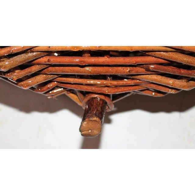 Monumental Hickory Gathering Basket - Image 6 of 6