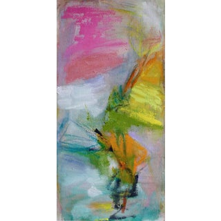 "Trixie Pitts ""Bouquet"" Small Abstract Painting"