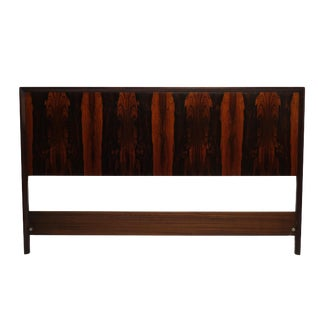 Mid-Century Queen Size Rosewood Headboard Westnofa of Norway