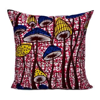 Flower Patch African Dutch Wax Pillows - A Pair