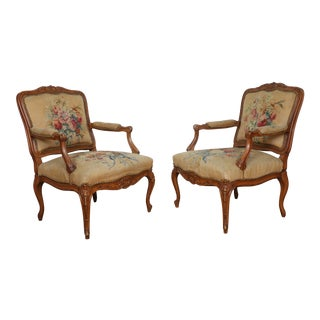 Vintage Little Point Chairs - a Pair