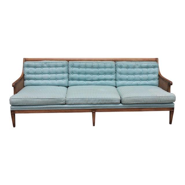"Mid Century Neoclassical ""Hamptons"" Sofa - Image 1 of 11"