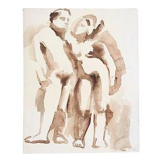 Jan '61 Watercolor By Bevington