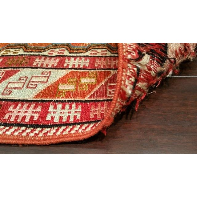 4′ × 6′6″ Silk Persian Hand Made Knotted Rug - Size Cat. 4x6 - Image 4 of 4