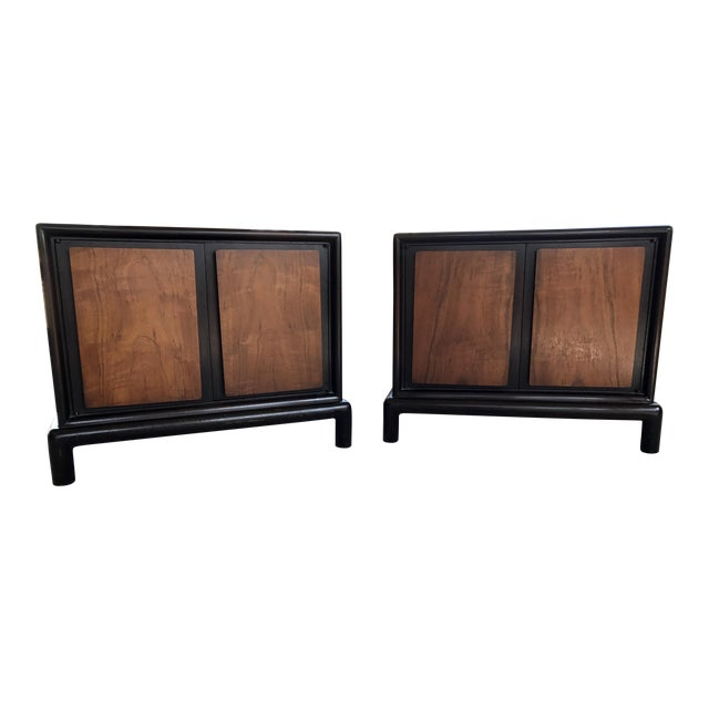 Thomasville Asian-Inspired End Tables - Image 1 of 9