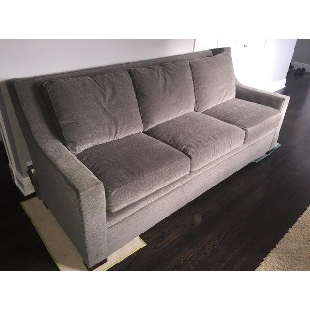 Henredon Contemporary Gray Sofa - Image 2 of 7