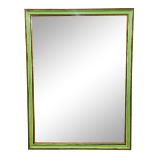 Green & Gold Mirror
