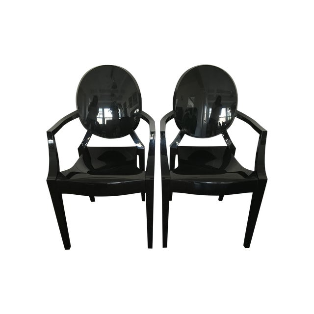 Phillipe Starck Kartell Louis Ghost Chair - Pair - Image 1 of 11