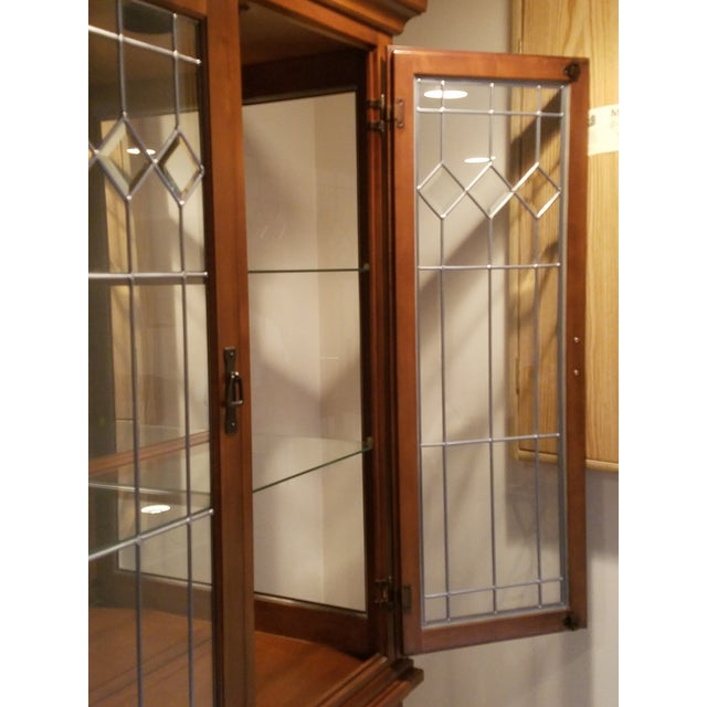 Wooden China Cabinet - Image 8 of 11
