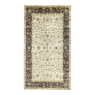 Black & Cream Traditional Hand Woven Rug - 8'1 X 14'5