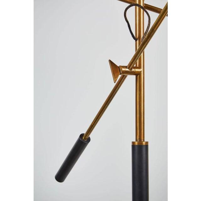 Rare Three-Arm Floor Lamp by Stilnovo - Image 9 of 10
