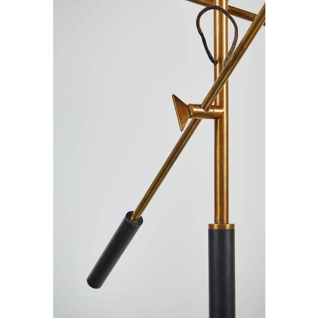 Image of Rare Three-Arm Floor Lamp by Stilnovo