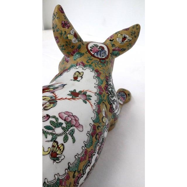 Japanese Meiji Antique Porcelain Pig - Image 7 of 10