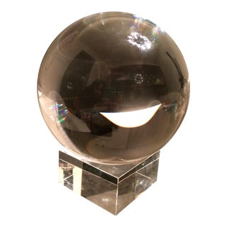 Global Views Crystal Sphere With Stand