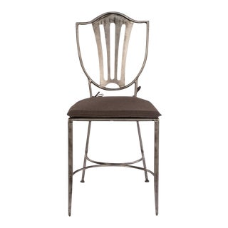 Sarreid Ltd Carpenter Shield Back Dining Chairs- A Pair
