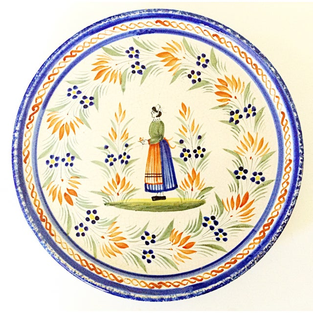 Quimper Serving Plate - Image 2 of 4