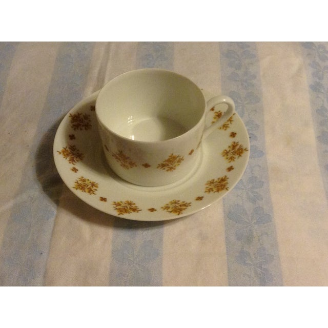 Limoges Demitasse Cups & Saucers - Set of 6 - Image 3 of 7